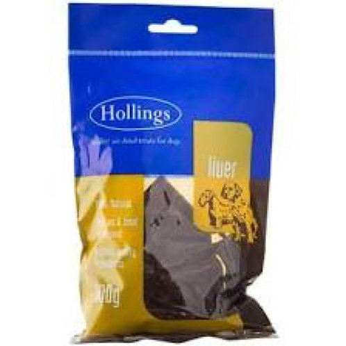 Hollings Liver Air Dried Dog Treat 100g