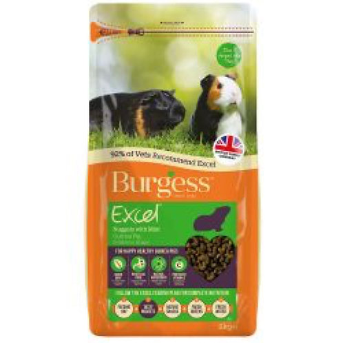 Burgess Guinea Pig Nuggets Mint 2kg