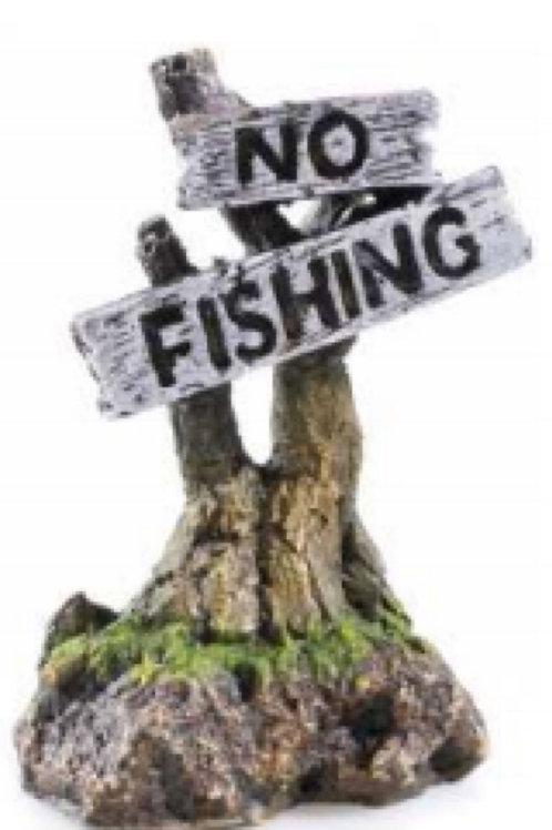 Classic Aquatics No Fishing Ornament