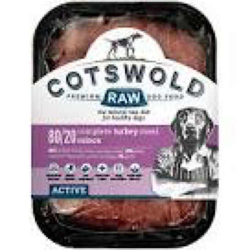 Cotswold Raw Turkey Mince Active 500g