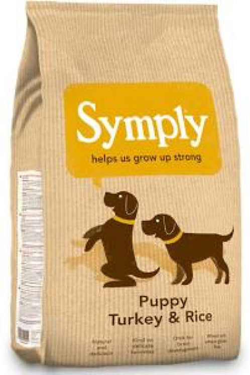 Symply Puppy Turkey and Rice 2kg
