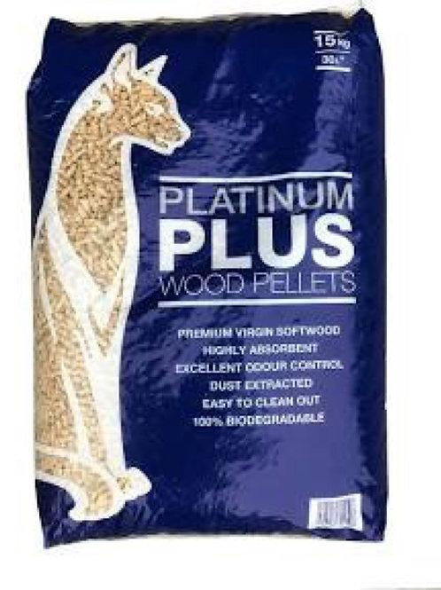 Wood Pellets Cat Litter 30L, 15kg