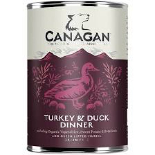 Canagan Turkey And Duck Dinner for Dogs 400g