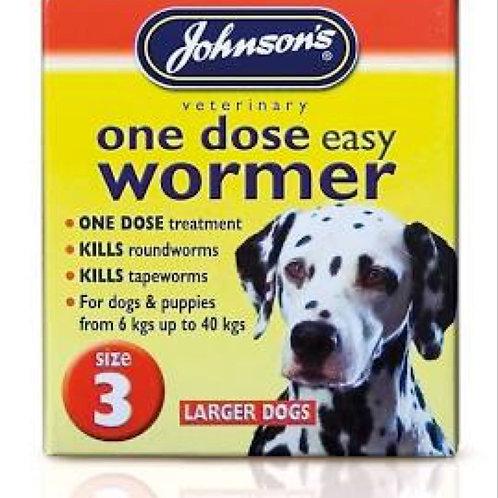 Johnson's Easy Wormer Size 3