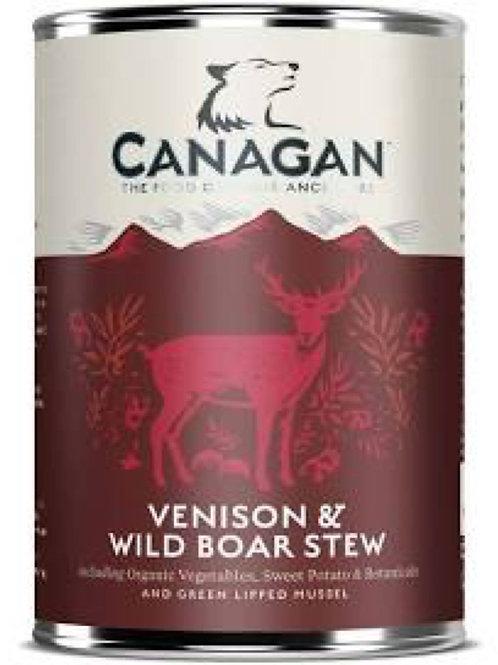 Canagan Dog Can Venison x Wild boar stew 400g