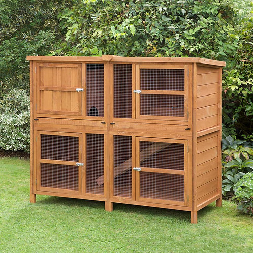 5ft Chartwell Double Luxury Guinea Pig Hutch