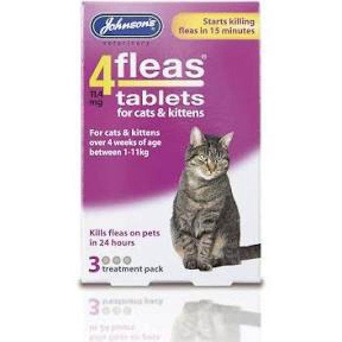 Johnson's 4Fleas Cat Tablets