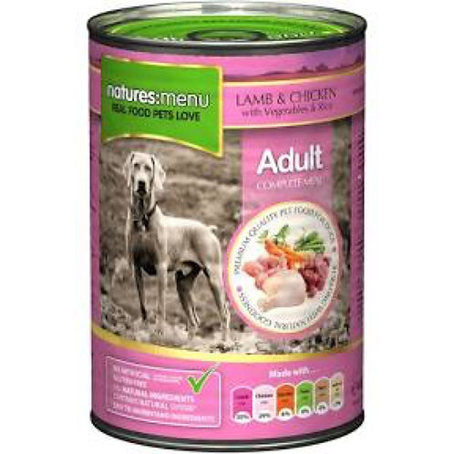 natures:menu Lamb And Chicken 400g Can