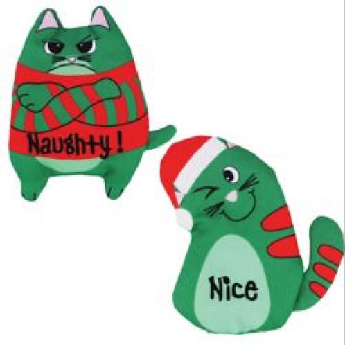 KONG Holiday Refillables Purrsonality Cat Toy