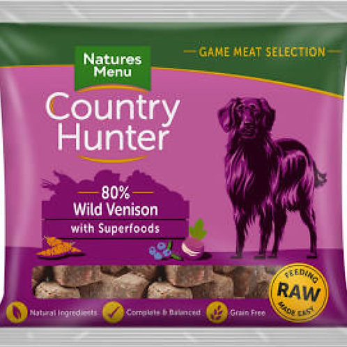 Country Hunter Nuggets Wild Venison