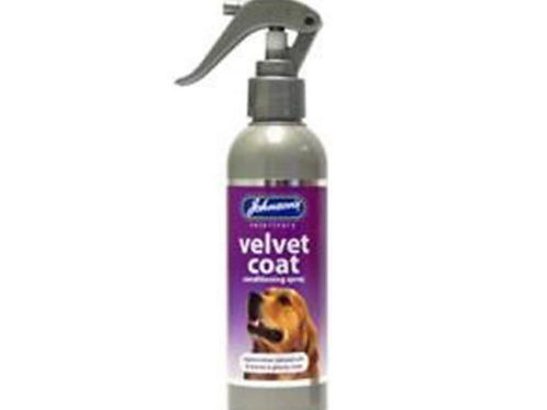 Johnson's Velvet Coat Dog Conditioner