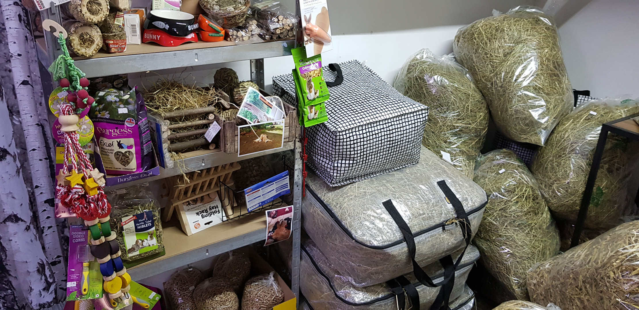 Rabbit & Refillable Hay Bags