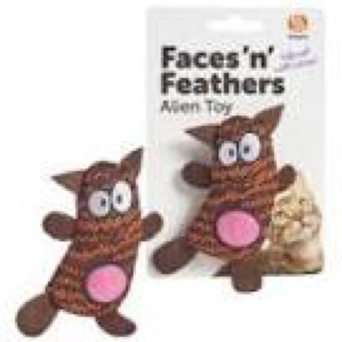 Faces n Feathers Alien Toy