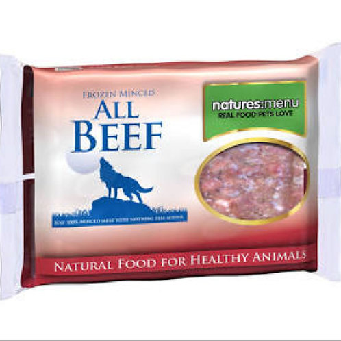 natures:menu Frozen Minced Beef