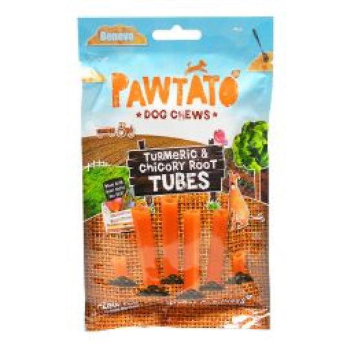Pawtato Tumeric and Chicory Root Tubes
