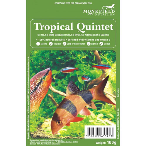 Monkfield Tropical Quartet