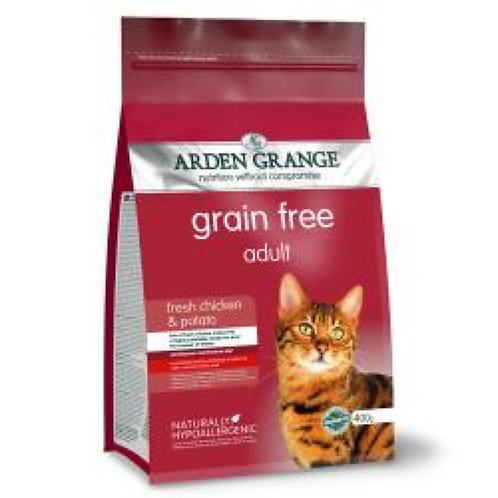 Arden Grange Cat Grain Free Adult Chick x Potato 400g