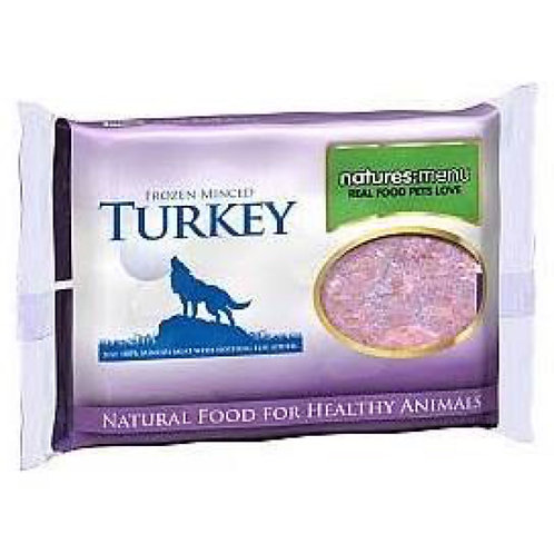 natures:menu Frozen Minced Turkey