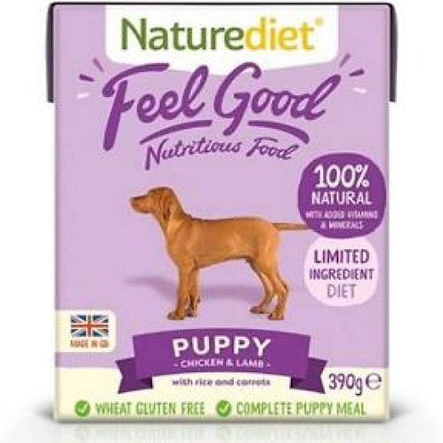 Naturediet Feel Good Puppy 390g