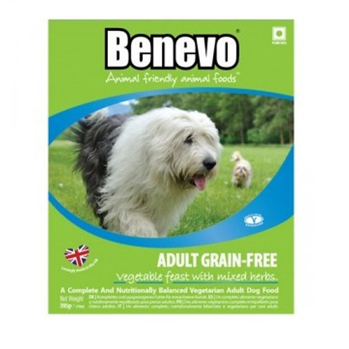 Adult Dog Grain Free Vegetable Feast Benevo 395g