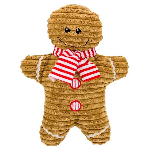 Gingerbread Dog Toy