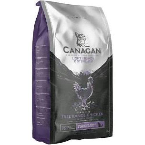 Canagan Cat Senior Chicken x Salmon 375g Bag