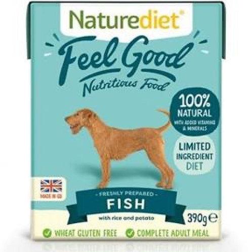 Naturediet Feel Good Fish 390g