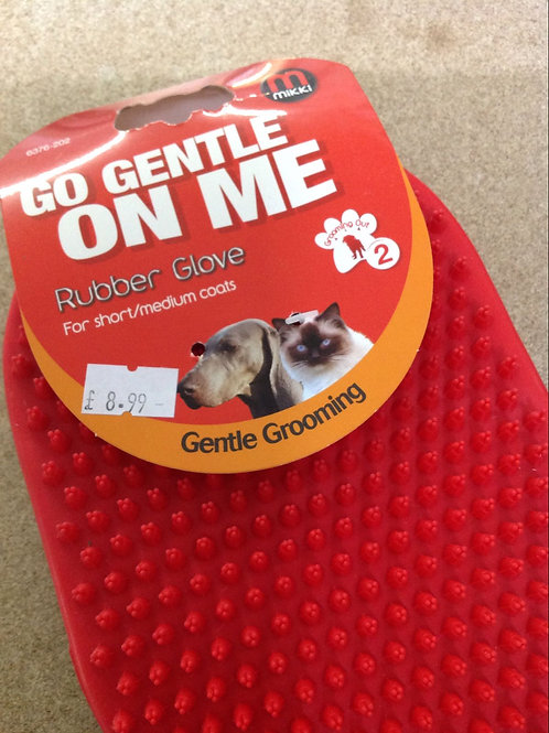 Grooming Rubber Glove