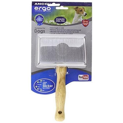 Ergo Wood Handle Slicker Brush Large