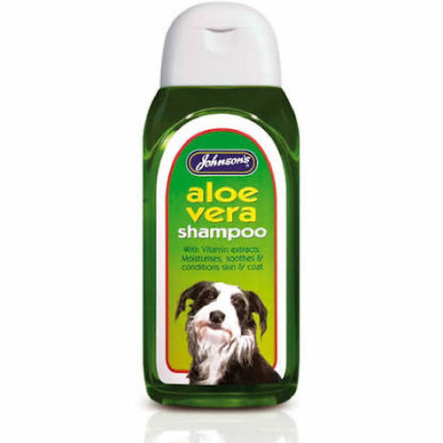 Johnsons Aloe Vera Shampoo 400ml
