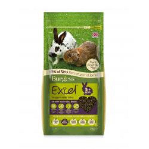 Rabbit Burgess Excel 1kg Adult Original Mint