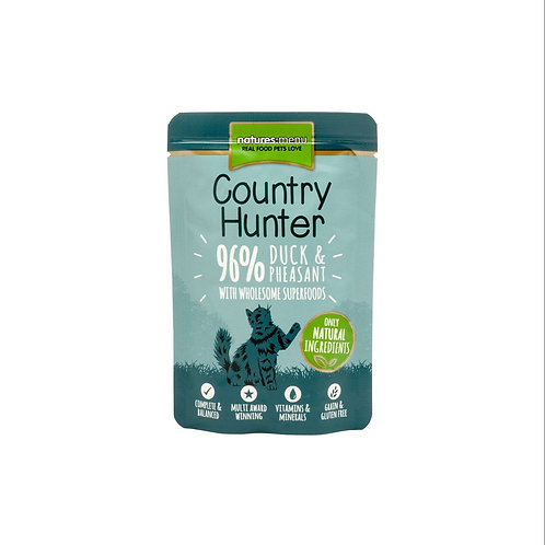 Country Hunter Duck and Pheasant 85g Pouch for Cats