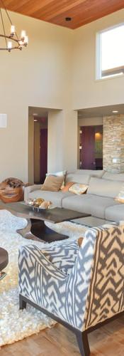 Classic open plan modern home