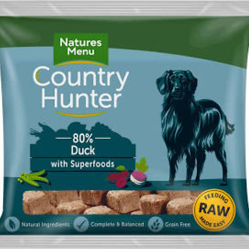 Country Hunter Raw Duck Nuggets