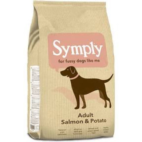 Symply Fussy Adult Dogs Salmon and Potato 2kg