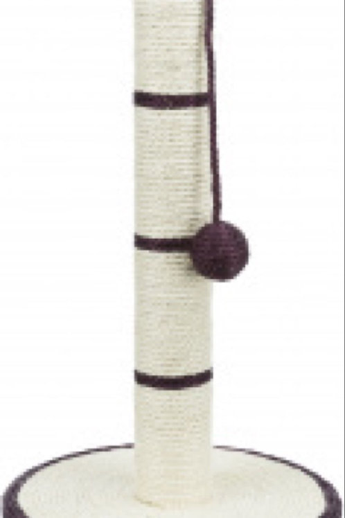 Trixie Pink and White Scratching Post, 50cm