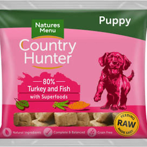 Country Hunter Nuggets Puppy Turkey Fish