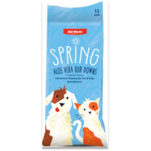 Bob Martin Spring Anti Bacterial Rub Downs