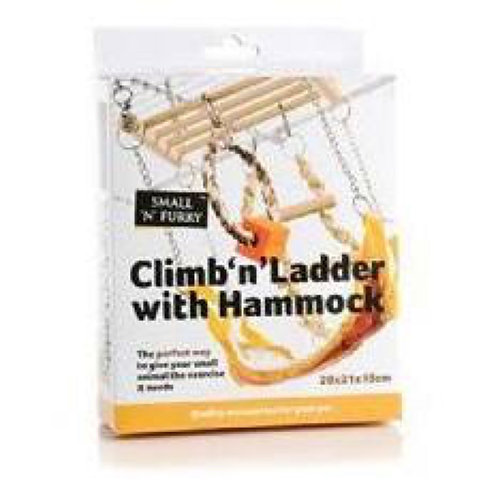 Climb N Ladder With Hammock