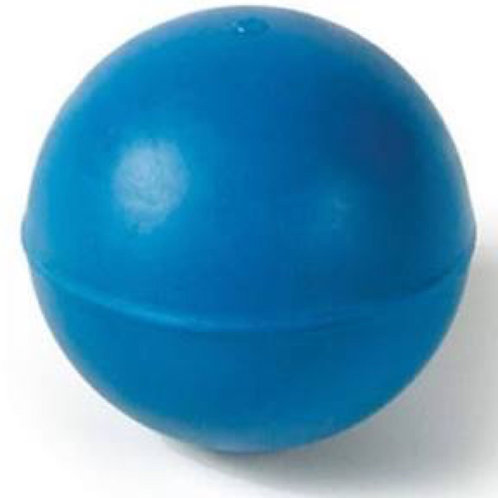 "Classic Blue Rubber Ball 3"""