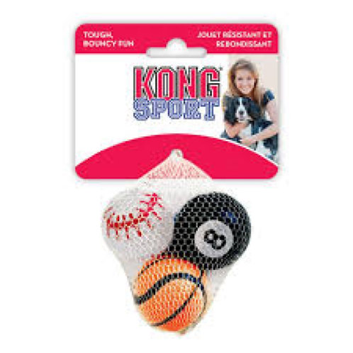 KONG Sport Ball SML 3 pack