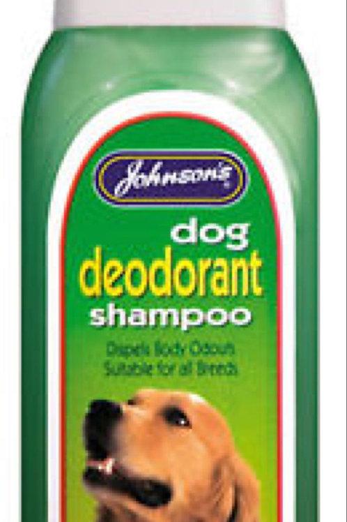 Johnsons Dog Deodorant Shampoo 400ml