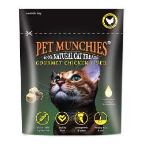 Cat Pet Munchies Chicken Liver