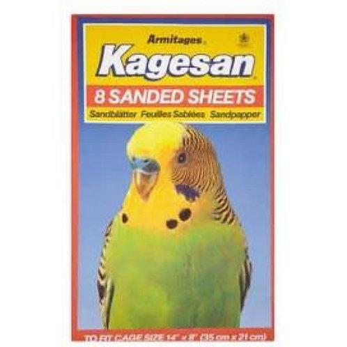 Kagesan Sanded Sheets 35x21cm SALMON