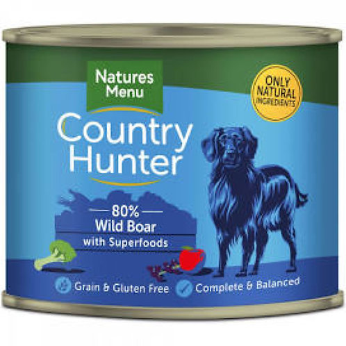 Country Hunter Wild Boar 600g Can