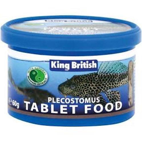 King British Plecostomus Food Tablet