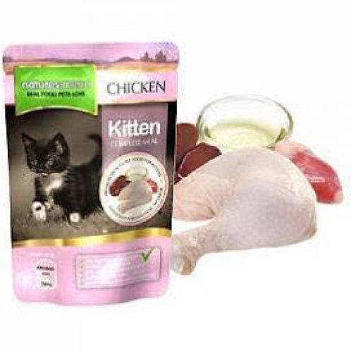 natures:menu Kitten Wet Pouch Chicken