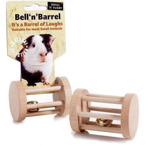 Sml Animal Bell Barrel