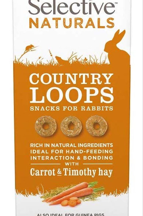 Country Loops Carrot Rabbit Treat