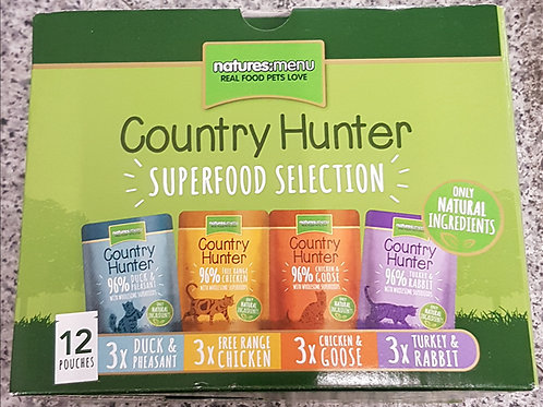 Country Hunter Cat Box of Pouches